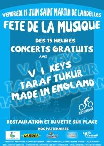 St Martin de Landelles Fete de la Musique 2015